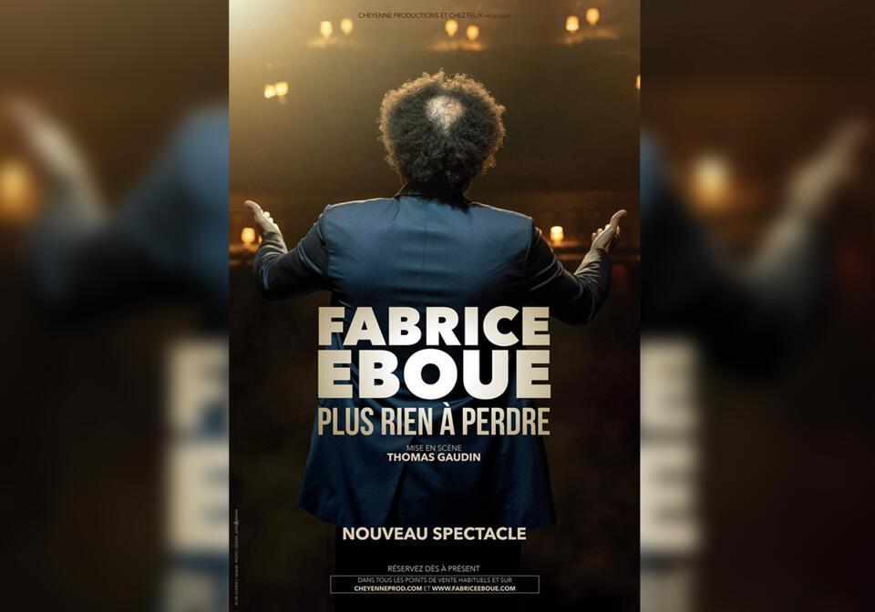 spectacle de Fabrice EBOUE au casino partouche de hyères auditorium le 22 Janvier 2020 à 20h